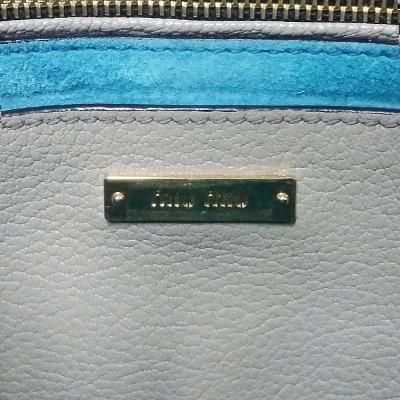 buckle detail tote bag beige